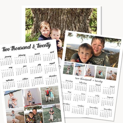 Personalised 202 Calendar