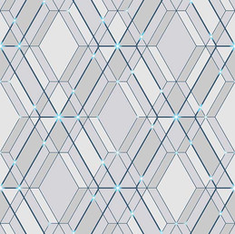Papel de parede reflets   -  L778_01