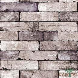 papel de parede stone age - SN604503R