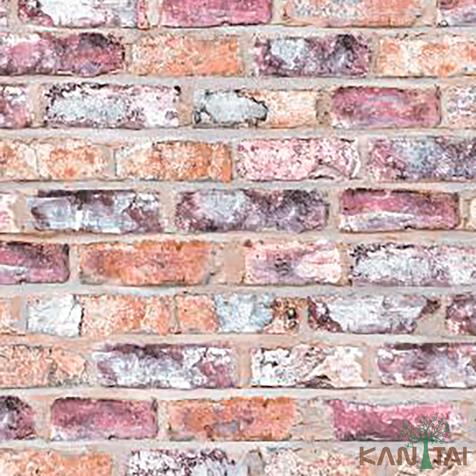 papel de parede stone age - SN604801R