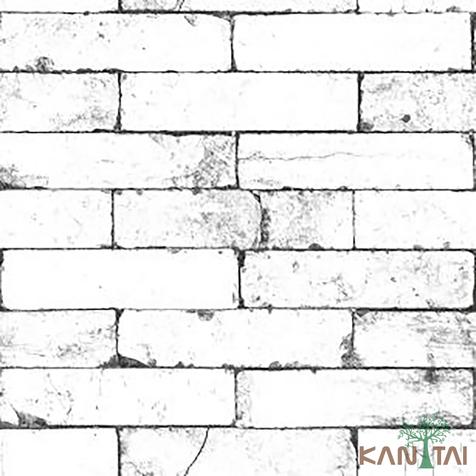 papel de parede stone age - SN604504R