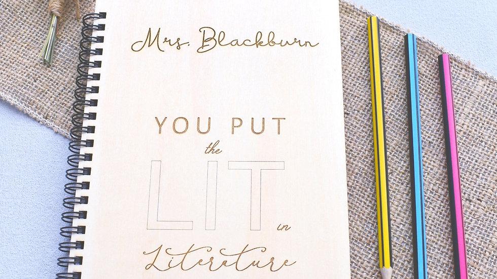 Personalised Notebook Teachers Gift