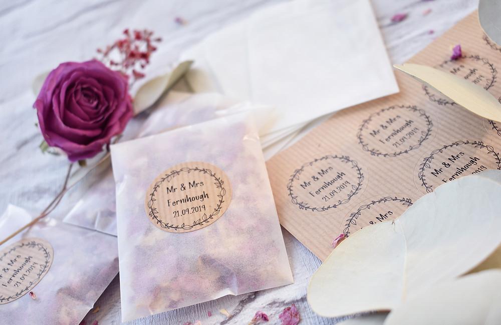 Confetti Packet | Biodegradable Confetti | Natural Confetti