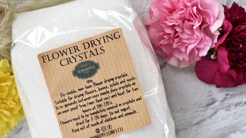 Drying Flowers in Silica Gel | Flower Preservation | Flower Drying