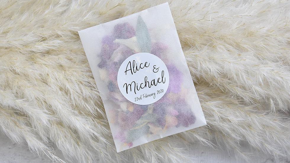 Confetti Bags | Confetti | Personalised Confetti