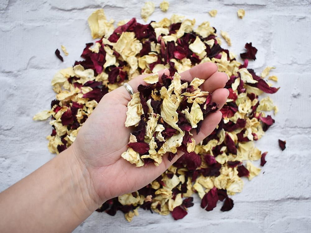 Rose Petal Confetti | Biodegradable Confetti | Natural Confetti