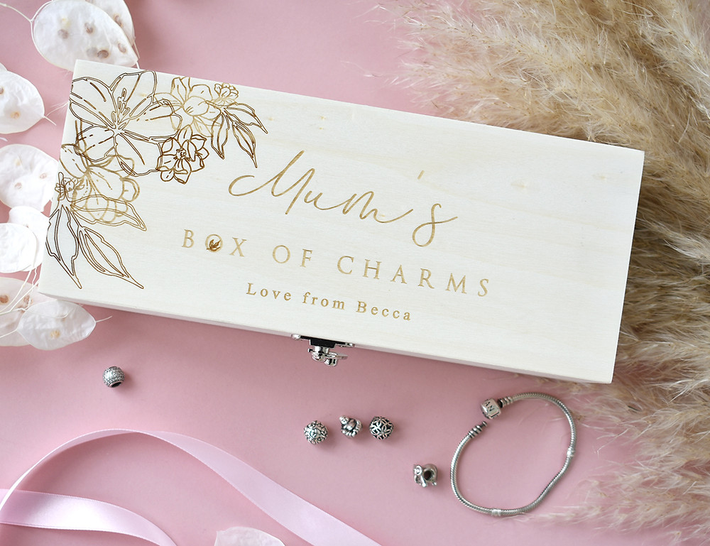 Mother's Day | Jewellery Box | Personalised Gifts