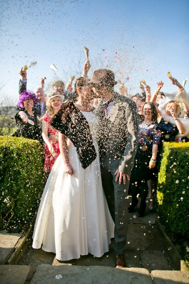 Confetti Shot | Wedding Confetti | Lavender Confetti