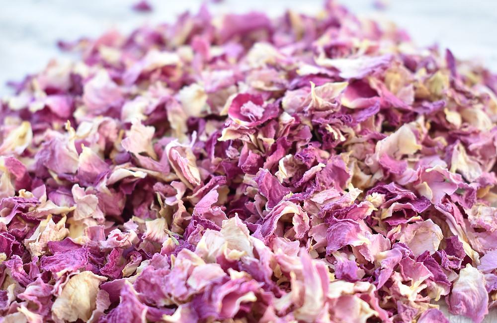 Pink Rose Confetti | Pink Confetti | Biodegradable Confetti