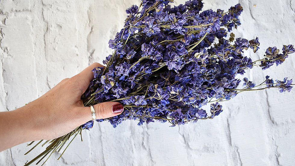 Purple Dried Flowers | Dried Flowers | Dried Flowers how to
