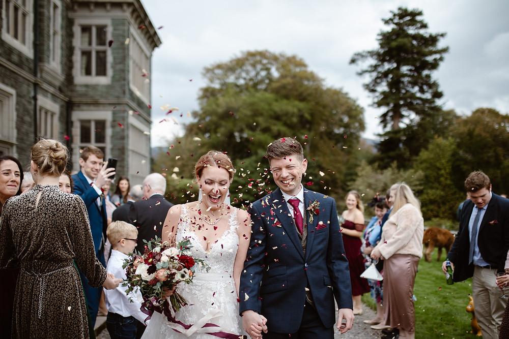 Wedding Confetti | Rose Petal Confetti | Red Rose Confetti
