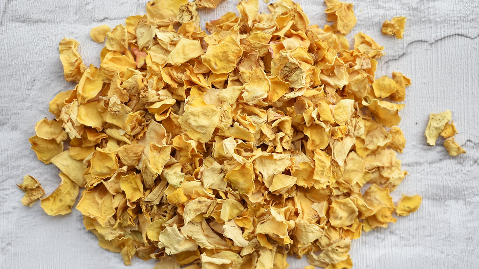 Golden Roses | Golden Rose Confetti | Biodegradable Confetti