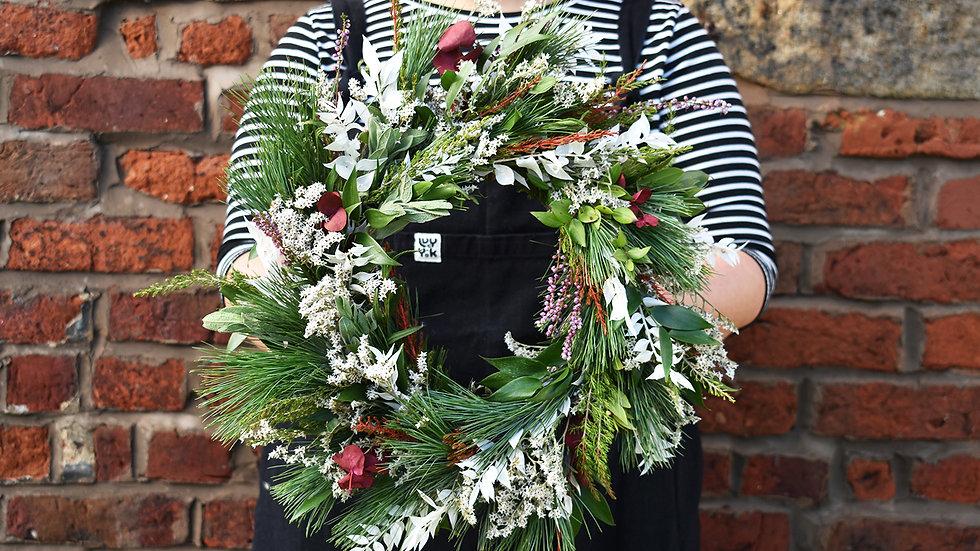 Christmas Wreath Making | Wreath Making How to | Wreath Making Class