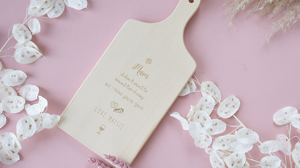 Cheese board | Personalised Gifts | Cheese lovers gift