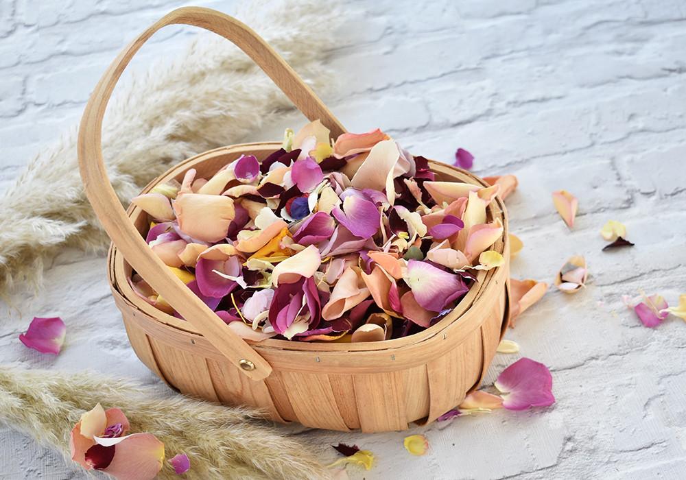 Flower Girl | Confetti Basket | Confetti