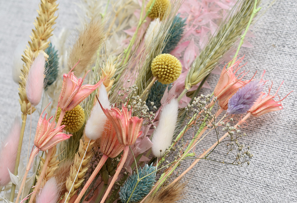 dried flowers | dried flower bunch | forever flowers