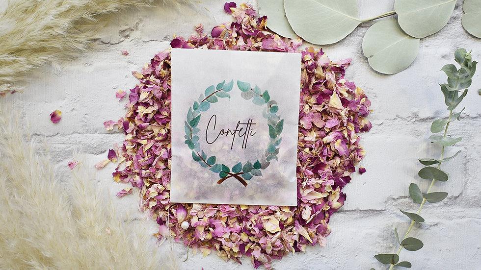 Confetti Bags | Biodegradable Confetti | Bags of Confetti