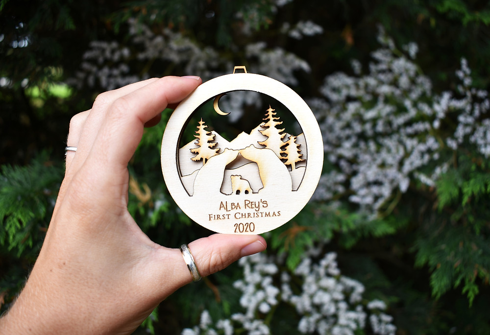 baby's first christmas bauble | Personalised bauble | Christmas Bauble