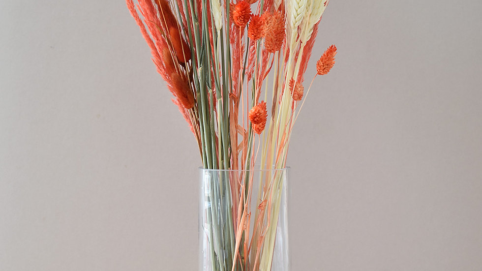 Coral Dried Flowers | Bunches of flowers | Dried Flowers