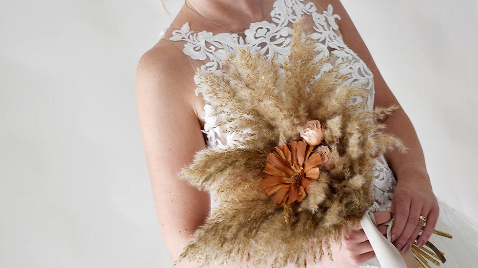 Prosperity Bridesmaid| Dried Flowers bouquet | Florist Lancashire