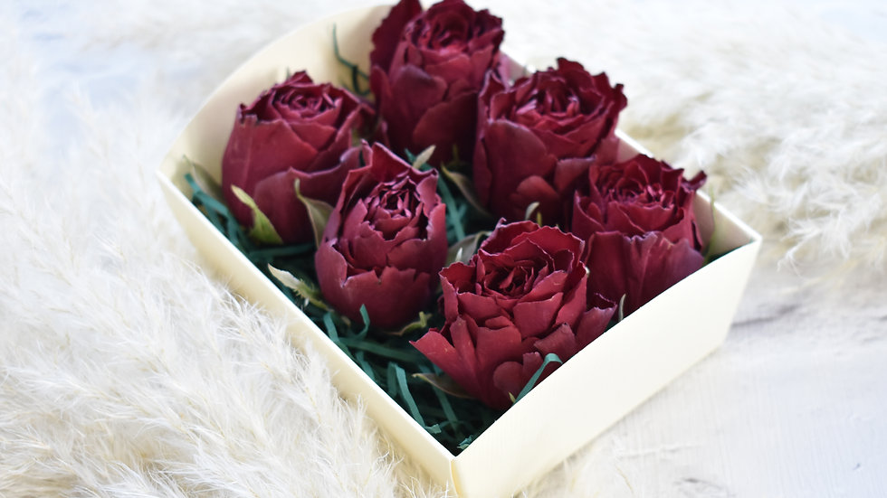 Freeze Dried Red Rose | Dried Flowers | Dried Flower Bouquet