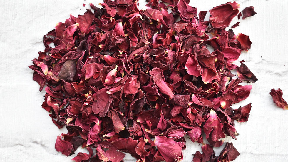 Red Rose Confetti | Biodegradable Rose Confetti | Natural Rose Confetti