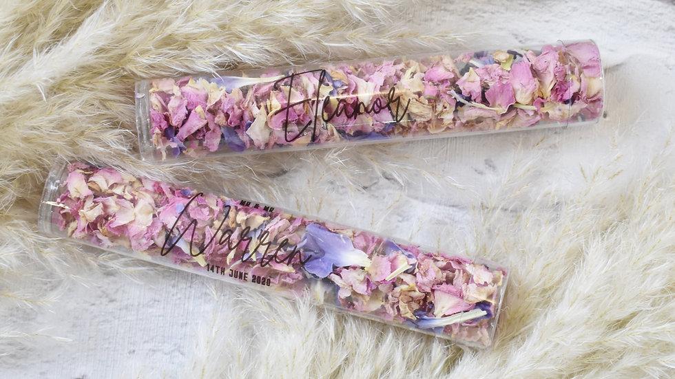 Confetti Flingers | Personalised Confetti | Biodegradable Confetti