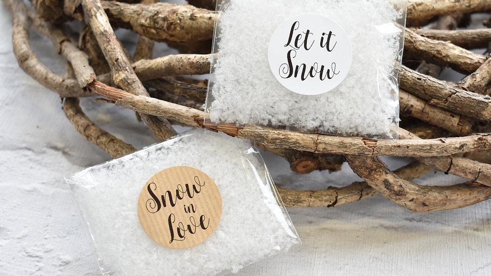 Snowfetti | Confetti Packets | Snow Confetti