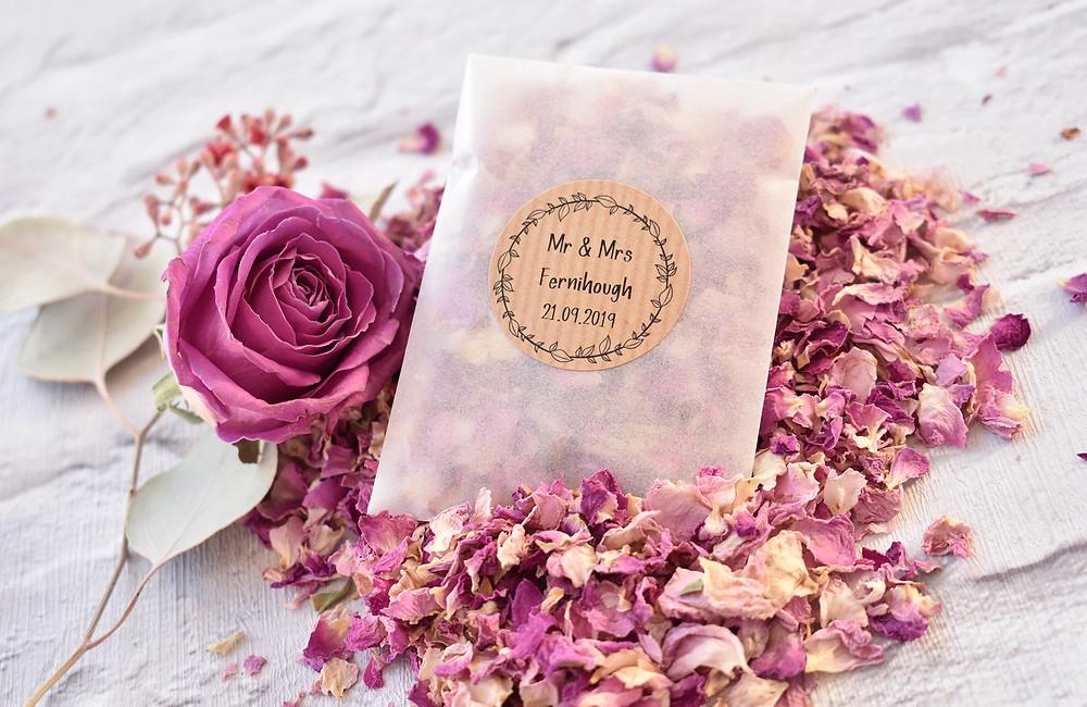 Wedding Confetti | Confetti Bag | Biodegradable Confetti