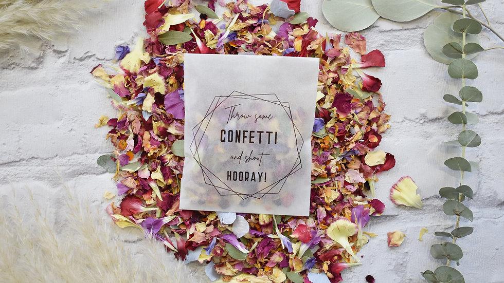 Confetti Packets | Biodegradable Confetti | Confetti Bags