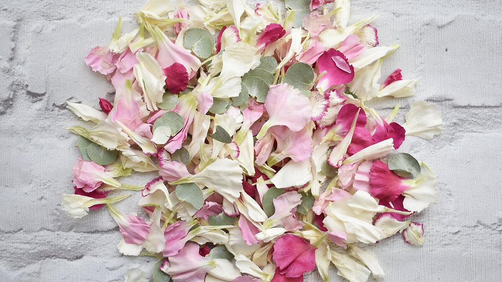 Blushing Bride | Eucalyptus Confetti | Confetti