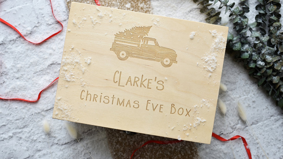 Christmas Eve Box Personalised | Christmas Eve Box | Christmas eve box wooden