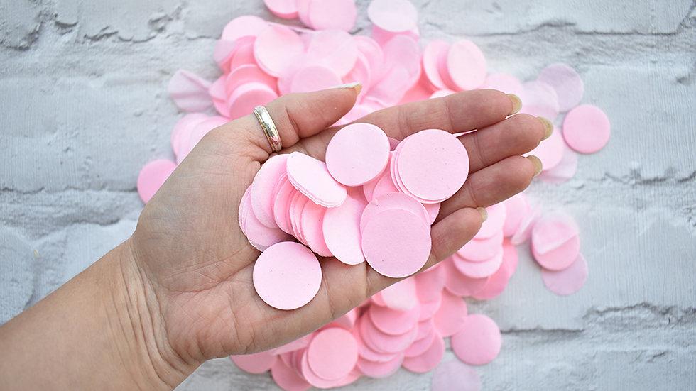 Pink Circle Confetti | Biodegradable Confetti | Paper Confetti