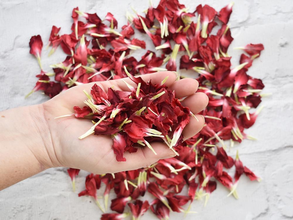 real petal confetti