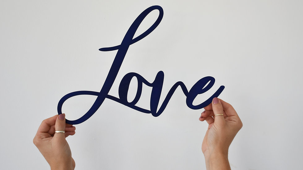 Love Sign | Wall Sign | Home Decoration