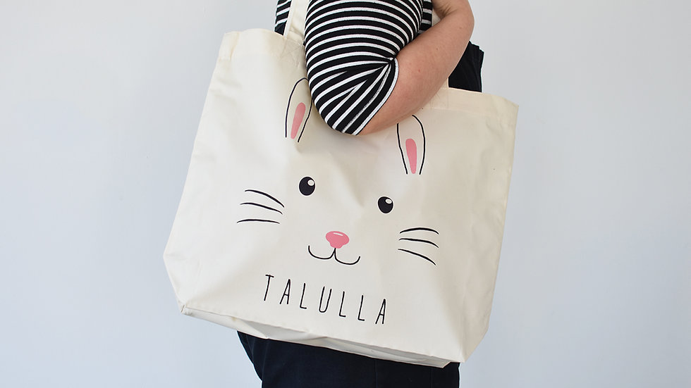 Personalised Bunny Bag | Easter Egg Hunt | Personalised Gifts for kids