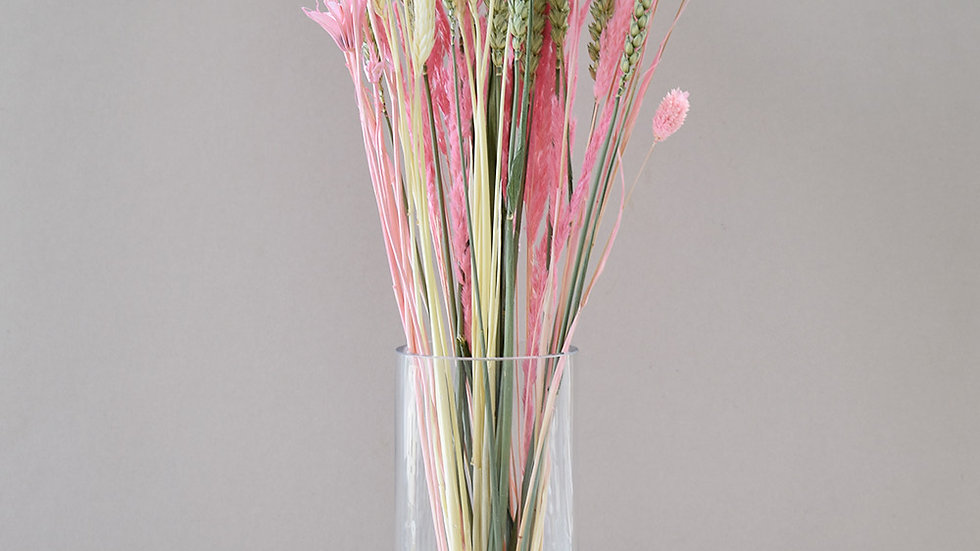 Pink Dried Flowers | Flower Bunch | Dried Bouquet Flowers