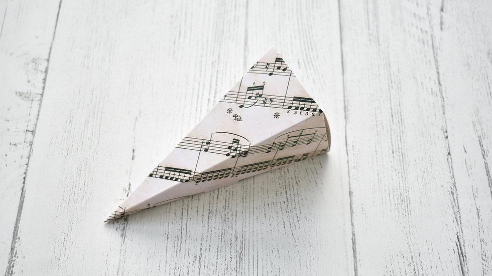 Music Confetti Cone | Confetti Cones | Confetti Cones DIY