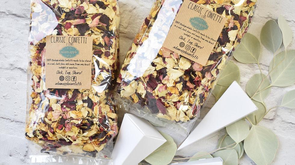 Confetti Cones | Biodegradable Confetti | Wedding Confetti