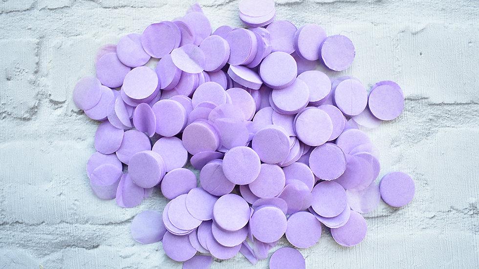 Lilac Circle Confetti | Biodegradable Confetti | Paper Confetti