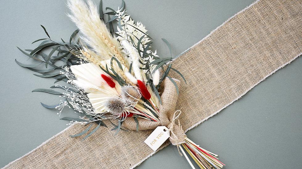 """Festive"" Dried Flower Arrangement"