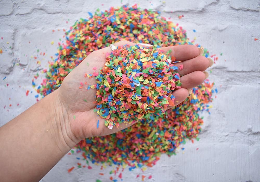 biodegradable paper confetti | rainbow confetti | biodegradable confetti