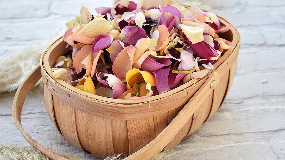 Flower Girl | Confetti Basket | Wedding Confetti