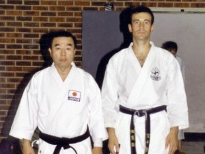 Akira Shiomi 8e Dan