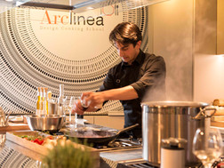 Opening Proefwerck Arclinea Design Cooking School