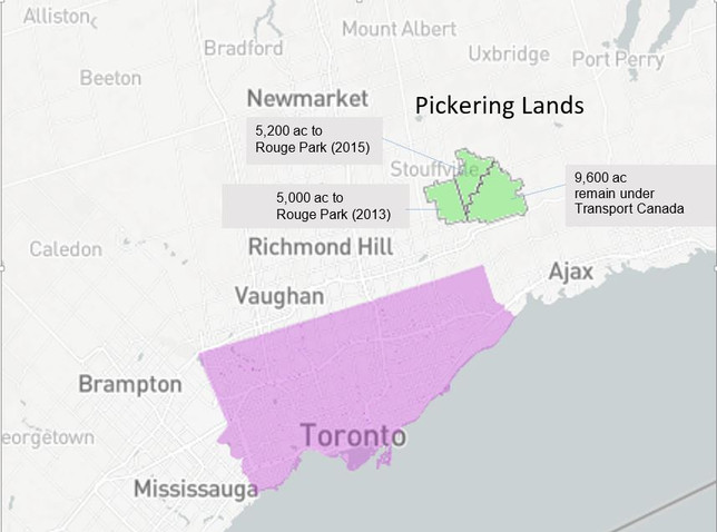 Where are the Pickering Lands?