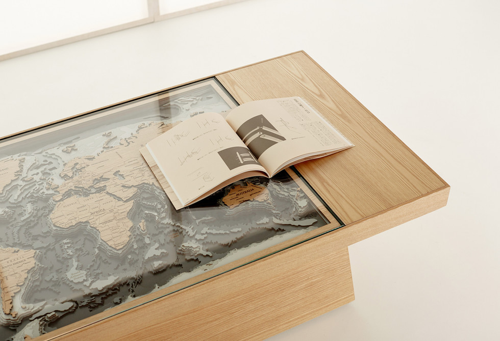 Woodenmap Table
