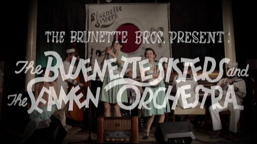 Bluenette Sisters & the Seamen Orchestra at Byens Lys in Christiania playing 'Some of these days'