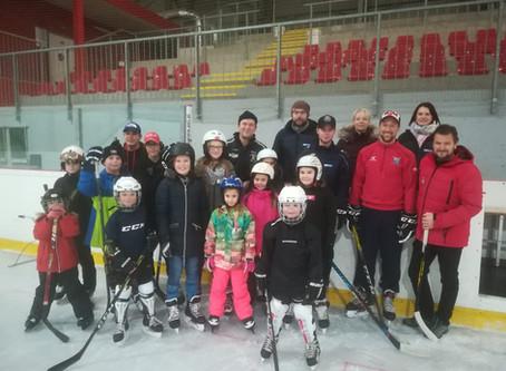 1. Eishockey Schule