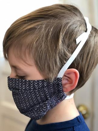 Pleated with adjustable headband